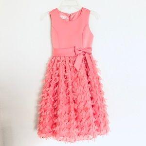 American Princess Coral Dress Girls Size 8